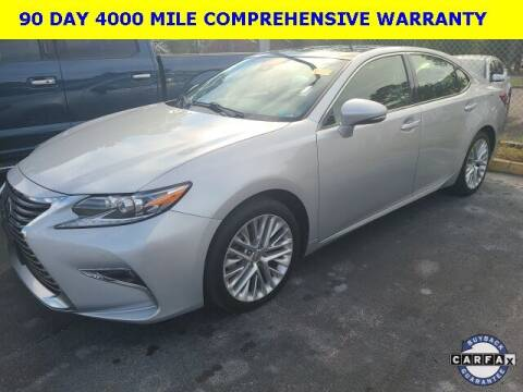 2016 Lexus ES 350 for sale at PHIL SMITH AUTOMOTIVE GROUP - Tallahassee Ford Lincoln in Tallahassee FL