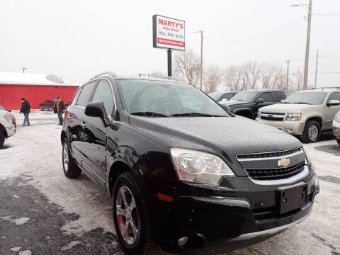 2012 Chevrolet Captiva Sport for sale at Marty's Auto Sales in Savage MN