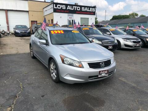 2009 Honda Accord for sale at Lo's Auto Sales in Cincinnati OH