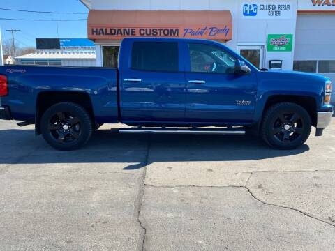 2015 Chevrolet Silverado 1500 for sale at Haldane Custom in Polo IL