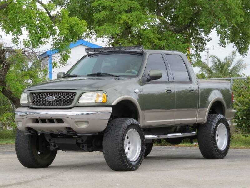 2001 Ford F-150 for sale at DK Auto Sales in Hollywood FL