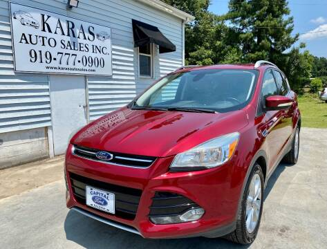 2014 Ford Escape for sale at Karas Auto Sales Inc. in Sanford NC