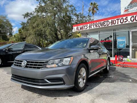 2016 Volkswagen Passat for sale at Always Approved Autos in Tampa FL
