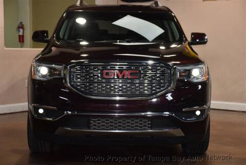2018 GMC Acadia for sale at Tampa Bay AutoNetwork in Tampa FL