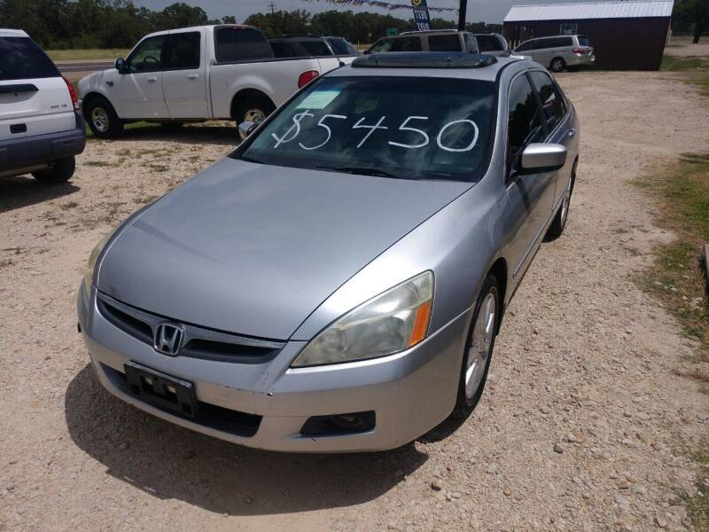2006 Honda Accord for sale at Knight Motor Company in Bryan TX