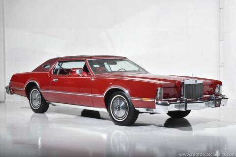 1976 Lincoln Continental for sale at Motorcar Classics in Farmingdale NY