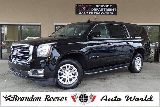 2016 GMC Yukon XL for sale at Brandon Reeves Auto World in Monroe NC