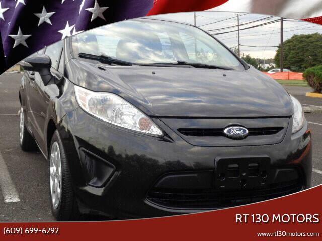 2013 Ford Fiesta for sale at RT 130 Motors in Burlington NJ