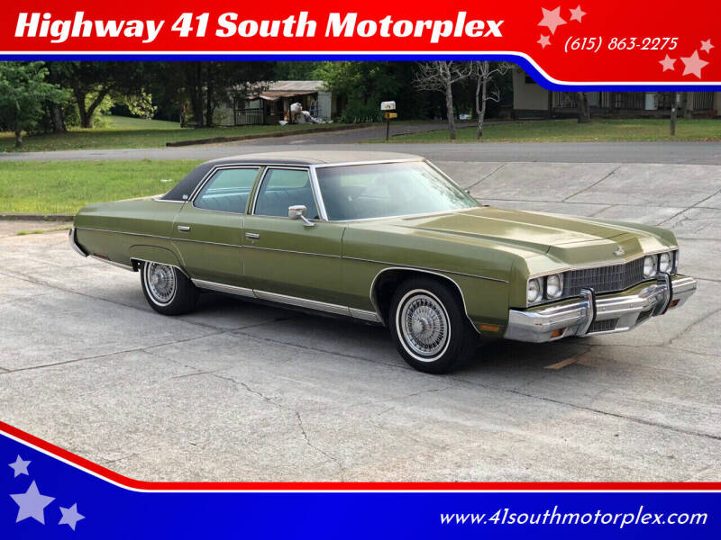 1973 Chevrolet Caprice for sale at Highway 41 South Motorplex in Springfield TN