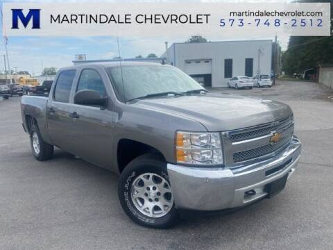 2013 Chevrolet Silverado 1500 for sale at MARTINDALE CHEVROLET in New Madrid MO