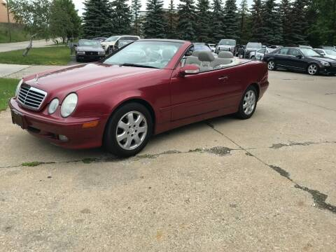 2001 Mercedes-Benz CLK for sale at Renaissance Auto Network in Warrensville Heights OH
