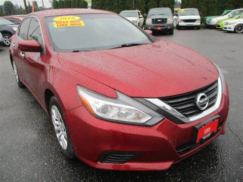2016 Nissan Altima for sale at GMA Of Everett in Everett WA