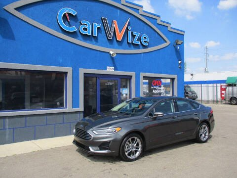 2020 Ford Fusion for sale at Carwize in Detroit MI
