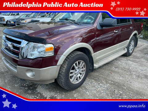 2009 Ford Expedition for sale at Philadelphia Public Auto Auction in Philadelphia PA