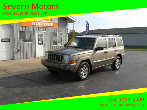 2006 Jeep Commander for sale at Severn Motors in Cadillac MI