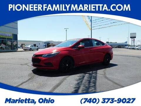 2017 Chevrolet Cruze for sale at Pioneer Family preowned autos in Williamstown WV