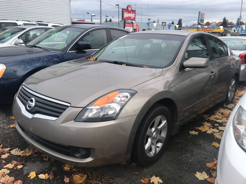 2007 Nissan Altima for sale at American Dream Motors in Everett WA