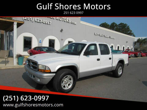 2004 Dodge Dakota for sale at Gulf Shores Motors in Gulf Shores AL