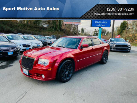 2007 Chrysler 300 for sale at Sport Motive Auto Sales in Seattle WA