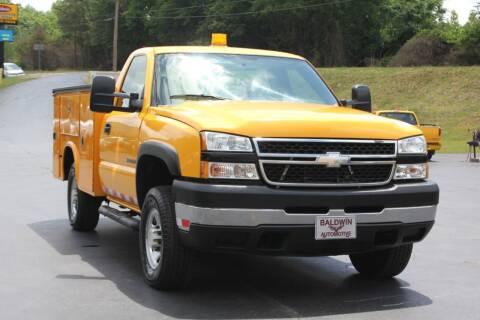 2006 Chevrolet Silverado 2500HD for sale at Baldwin Automotive LLC in Greenville SC