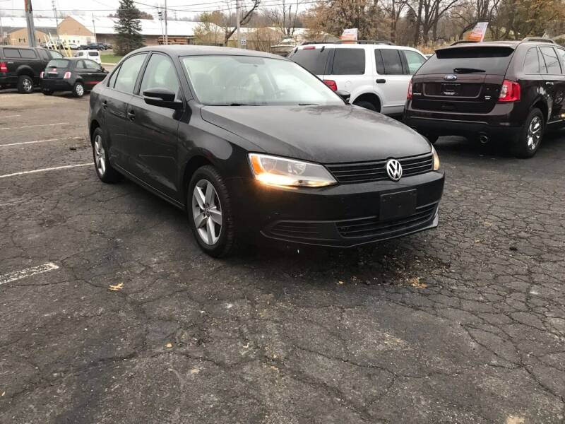 2012 Volkswagen Jetta for sale at ENZO AUTO in Parma OH