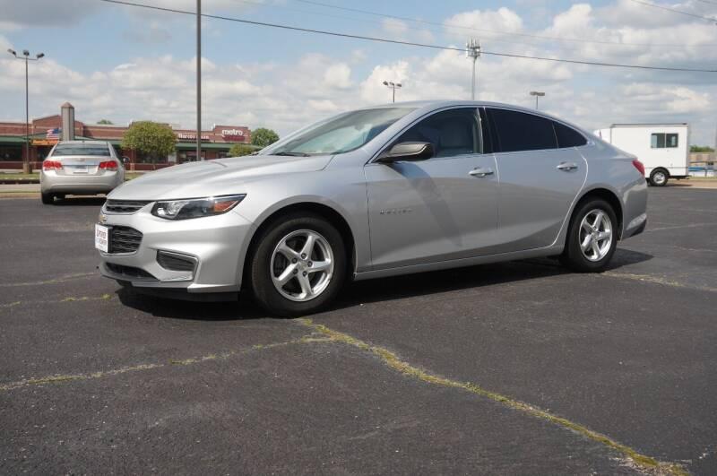2016 Chevrolet Malibu for sale at Certified Auto Center in Tulsa OK