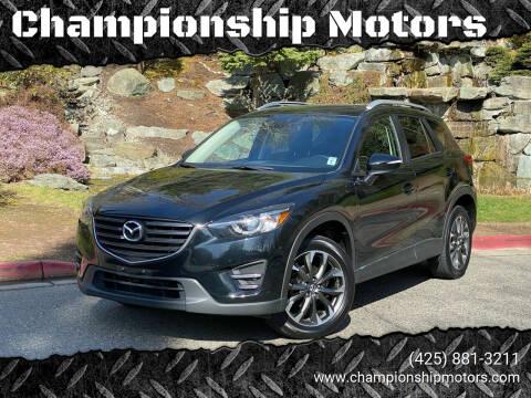 2016 Mazda CX-5 for sale at Championship Motors in Redmond WA