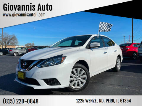 2017 Nissan Sentra for sale at Giovannis Auto in Peru IL