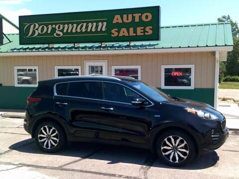 2018 Kia Sportage for sale at Borgmann Auto Sales in Norfolk NE