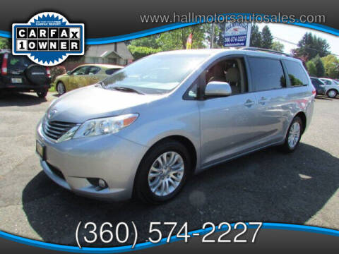 2012 Toyota Sienna for sale at Hall Motors LLC in Vancouver WA