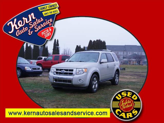 2009 Ford Escape for sale at Kern Auto Sales & Service LLC in Chelsea MI