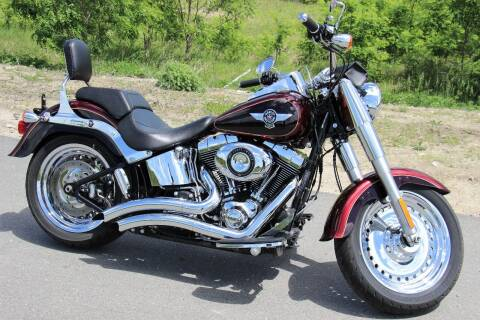 2014 Harley-Davidson FLSTF for sale at Miers Motorsports in Hampstead NH