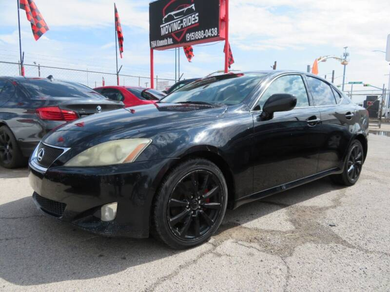 2006 Lexus IS 250 for sale at Moving Rides in El Paso TX
