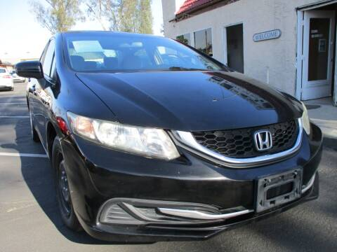 2014 Honda Civic for sale at F & A Car Sales Inc in Ontario CA