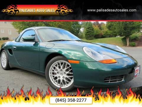2001 Porsche Boxster for sale at PALISADES AUTO SALES in Nyack NY
