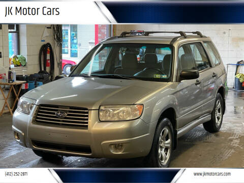 2006 Subaru Forester for sale at JK Motor Cars in Pittsburgh PA