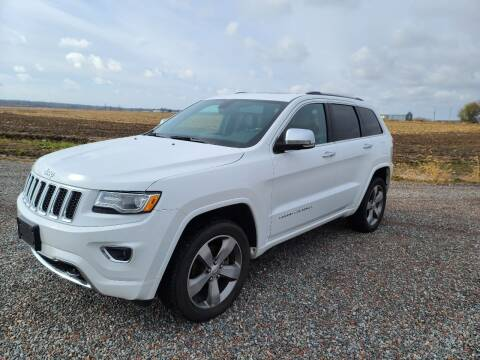 2015 Jeep Grand Cherokee for sale at Shinkles Auto Sales & Garage in Spencer WI