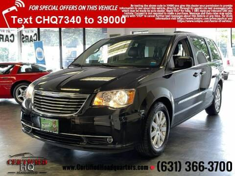2013 Chrysler Town and Country for sale at CERTIFIED HEADQUARTERS in Saint James NY