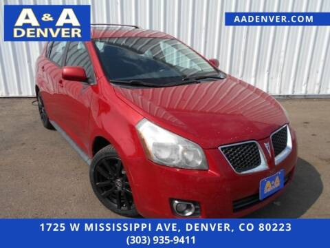 2009 Pontiac Vibe for sale at A & A AUTO LLC in Denver CO
