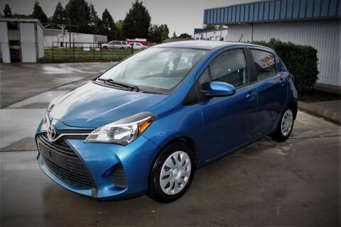 2016 Toyota Yaris for sale at Accolade Auto in Hillsboro OR