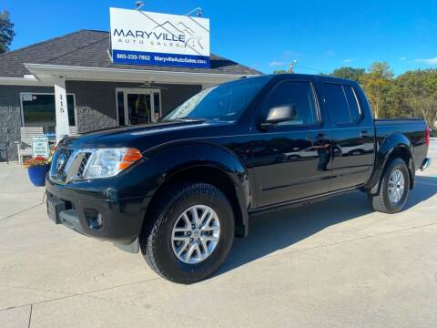 2015 Nissan Frontier for sale at Maryville Auto Sales in Maryville TN