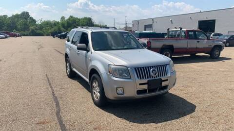 2009 Mercury Mariner for sale at WEINLE MOTORSPORTS in Cleves OH