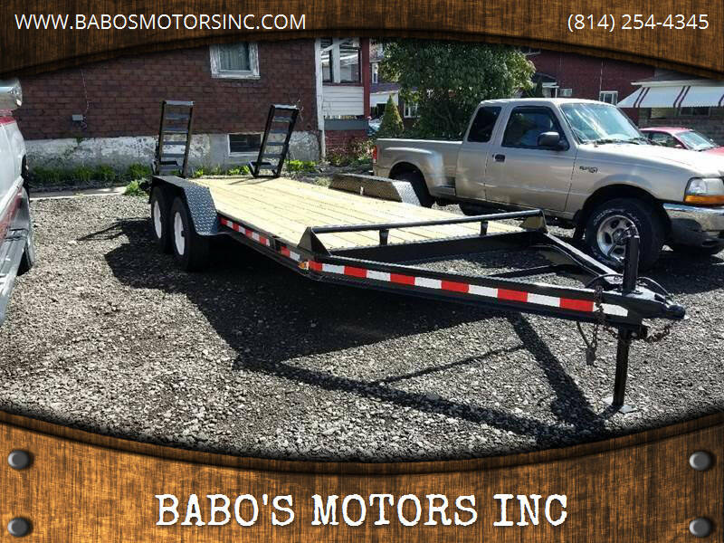 1995 Hudson CLASS 4 for sale at BABO'S MOTORS INC in Johnstown PA
