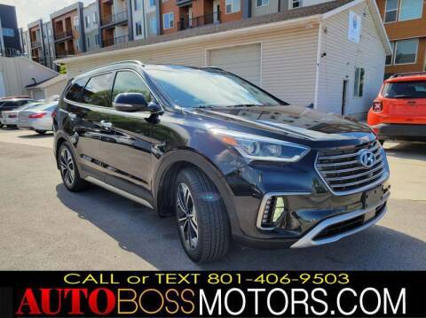 2018 Hyundai Santa Fe for sale at Auto Boss in Woodscross UT