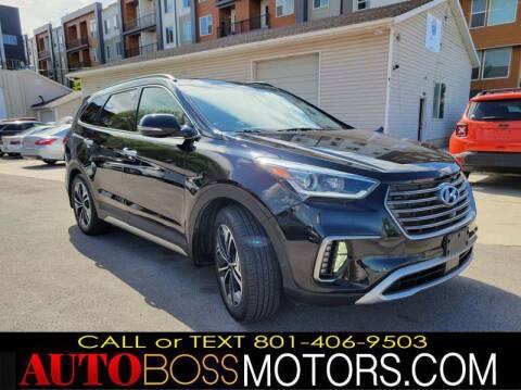 2018 Hyundai Santa Fe for sale at Auto Boss in Woodscross UT