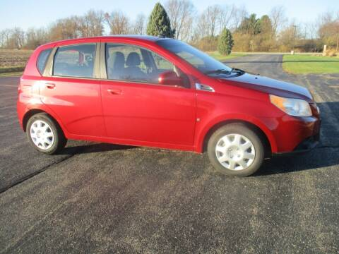 2009 Chevrolet Aveo for sale at Crossroads Used Cars Inc. in Tremont IL
