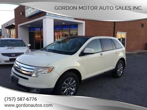 2007 Ford Edge for sale at Gordon Motor Auto Sales Inc. in Norfolk VA