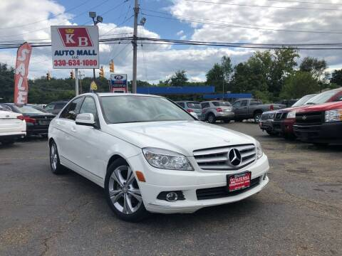 2008 Mercedes-Benz C-Class for sale at KB Auto Mall LLC in Akron OH
