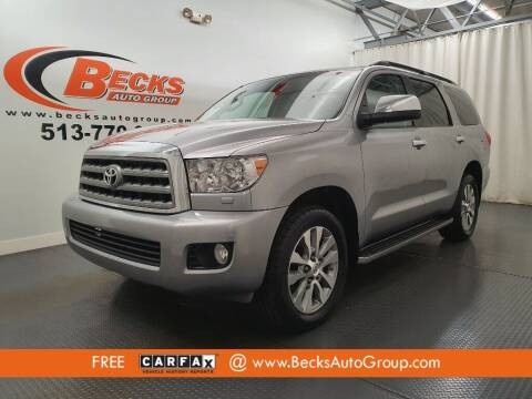2017 Toyota Sequoia for sale at Becks Auto Group in Mason OH