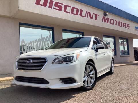 2016 Subaru Legacy for sale at Discount Motors in Pueblo CO